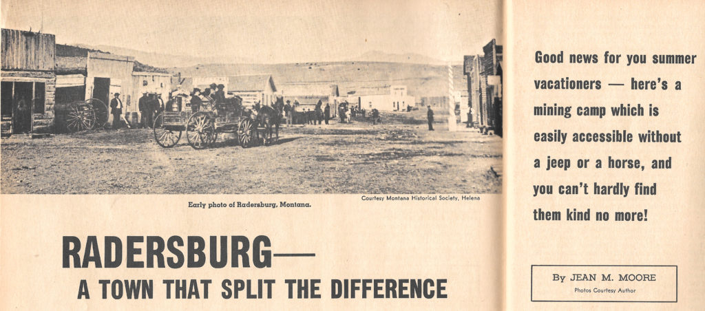 1969 05 00 magazine article_Radersburg-Mining Town That You Can Reach_interior shot