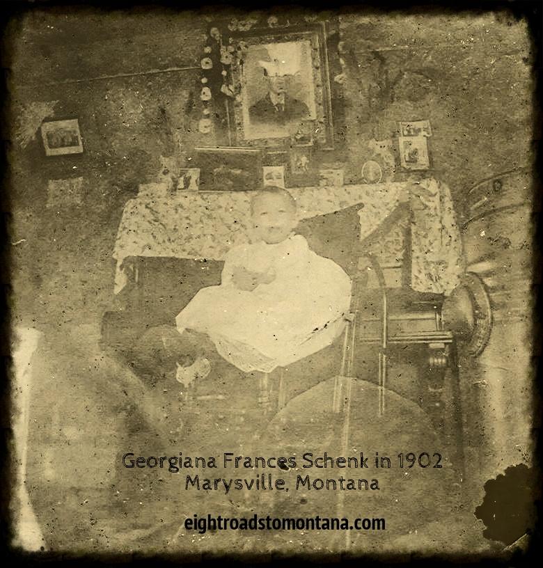 1902 Georgiana Frances Schenk