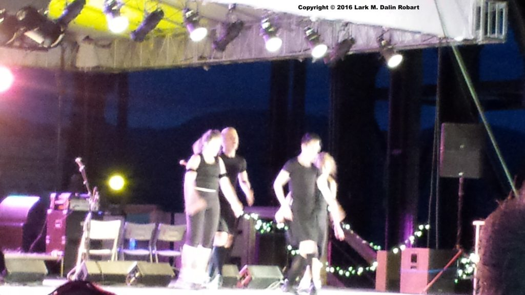 Irish Dancers at the Original Mine, Butte Irish Festival 2016