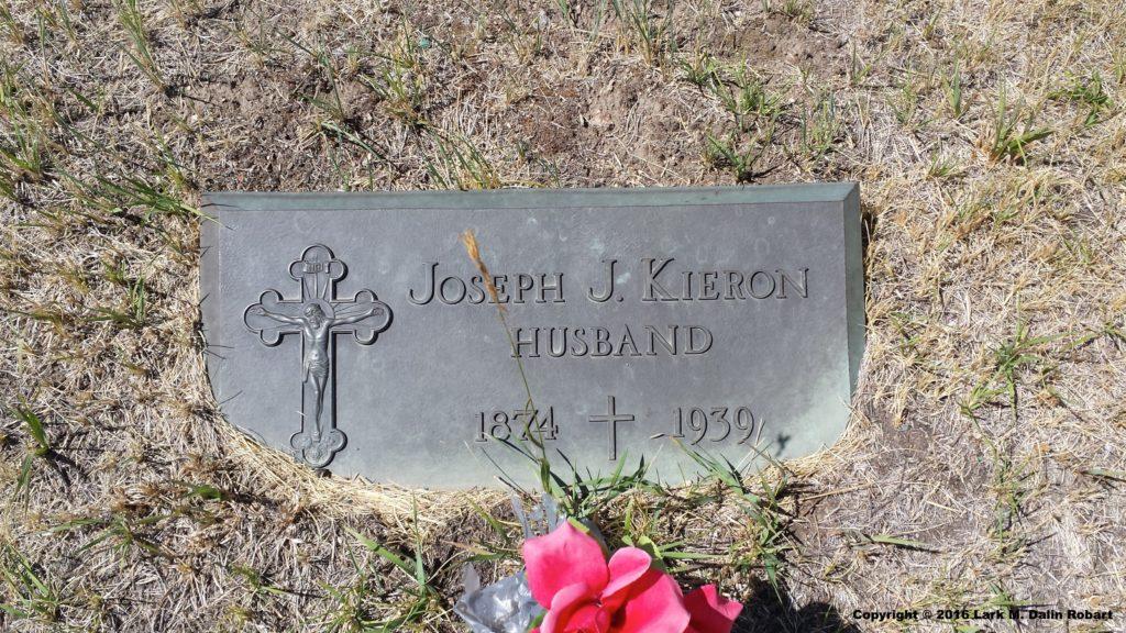 Joseph's headstone
